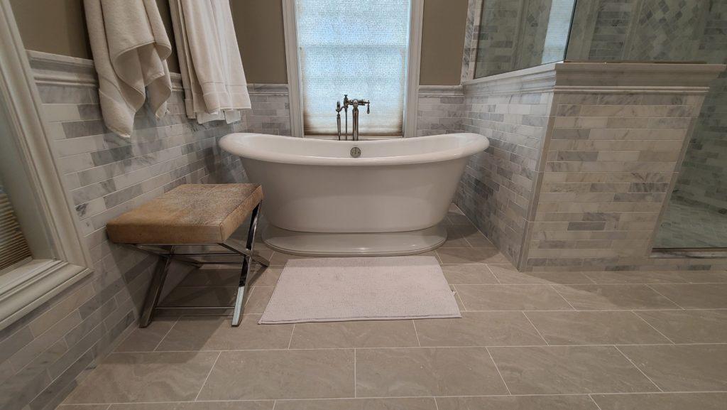brookfield rebuild- soaking tub